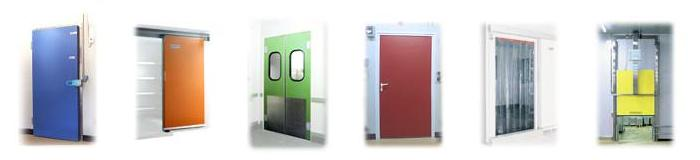 Doors for coldrooms